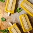 Mango Bourbon Smash Popsicles//heartofabaker.com