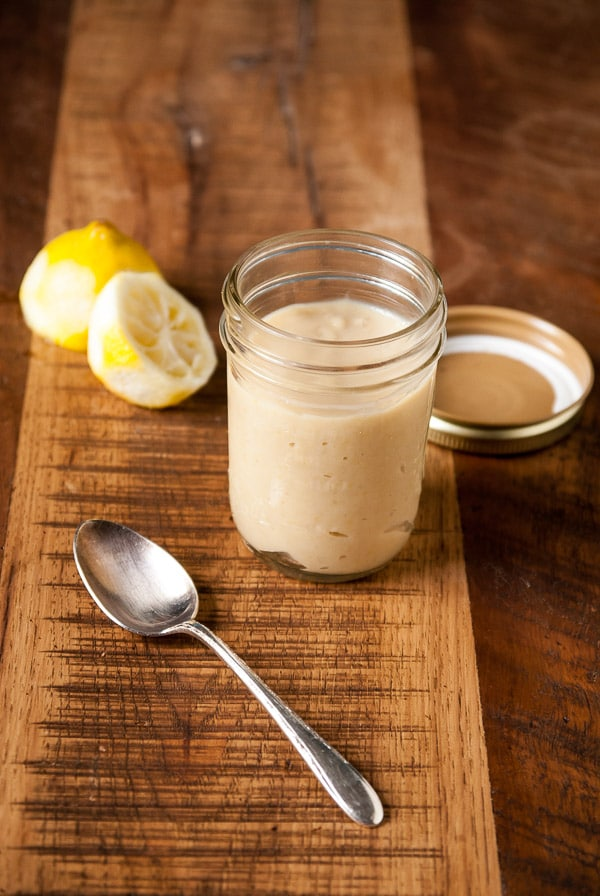 Homemade Vegan Lemon Curd//heartofabaker.com