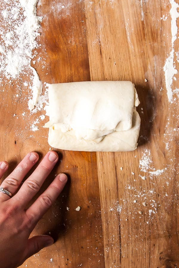 How to Make Vegan Puff Pastry- If you are looking for the best and easiest way to make coconut oil vegan puff pastry, this is it! Ready for desserts, vegan crossaints and everything in between.