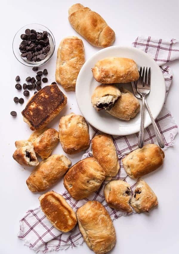 Chocolate-Filled Vegan Croissants