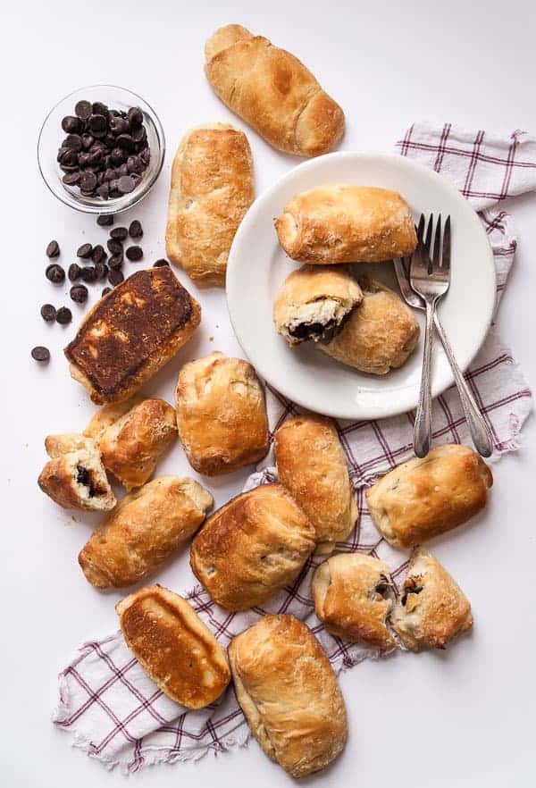Vegan Chocolate Croissants
