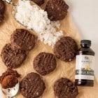Chocolate Coconut Cashew Cookies (Vegan)