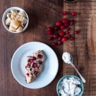 Candied Ginger and Cranberry Scones