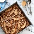 Pear +Pecan Baked Oatmeal (Vegan + GF)