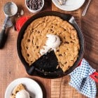 Vegan Deep Dish Chocolate Chip Cookie