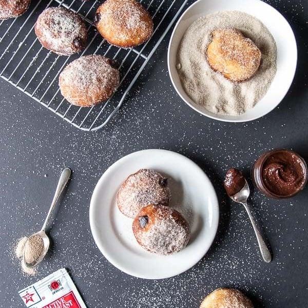 Vegan Nutella Donuts