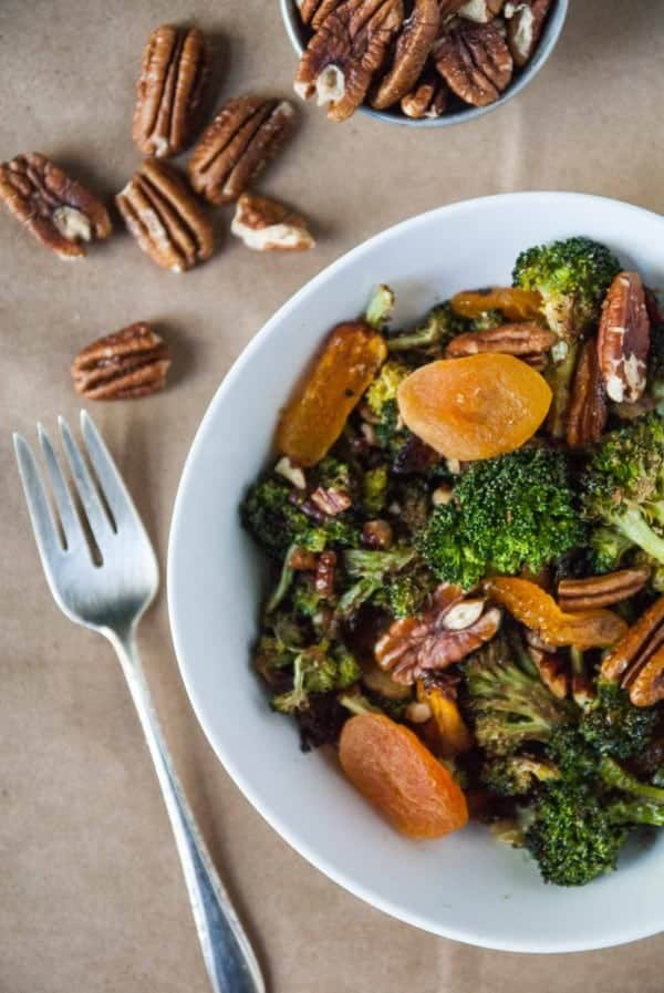Broccoli Apricot Pecan Salad