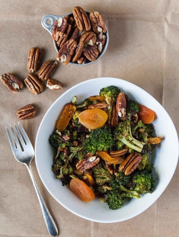 Broccoli Apricot Pecan Salad