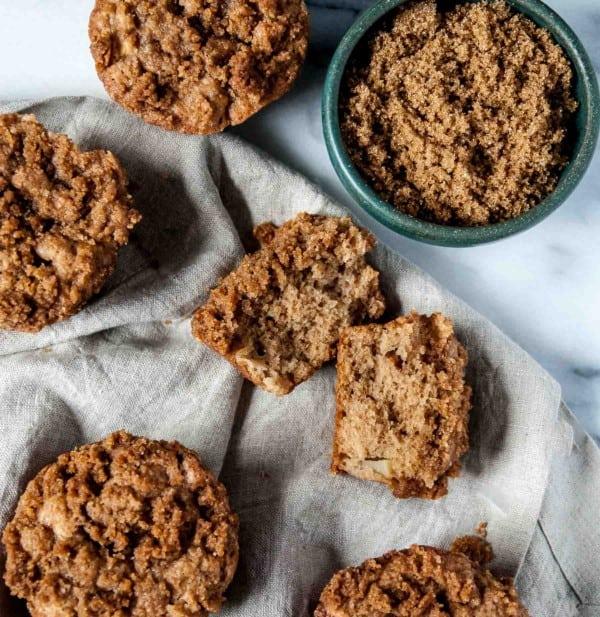 Vegan Cinnamon Apple Cider Muffins