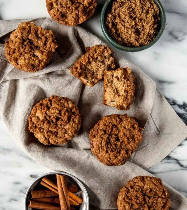 Vegan Apple Cinnamon Muffins