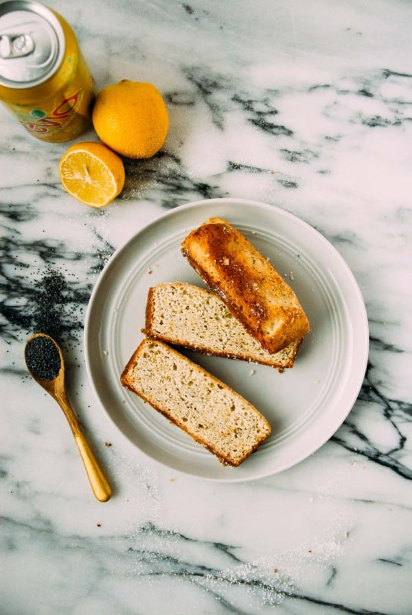 An easy and sweet vegan lemon poppyseed bread, comes together in one bowl and is bursting with fresh lemon flavor!