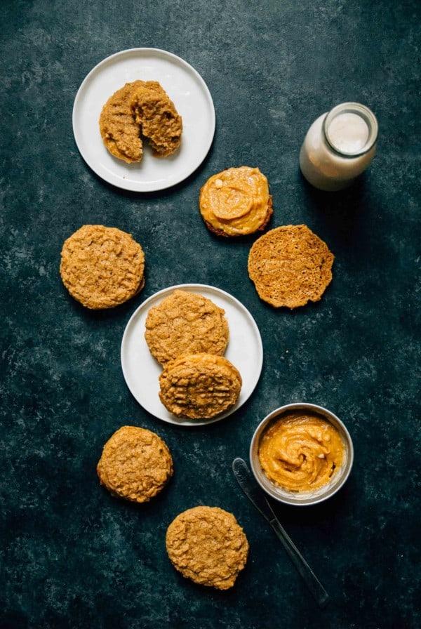 assembling homemade nutter butters