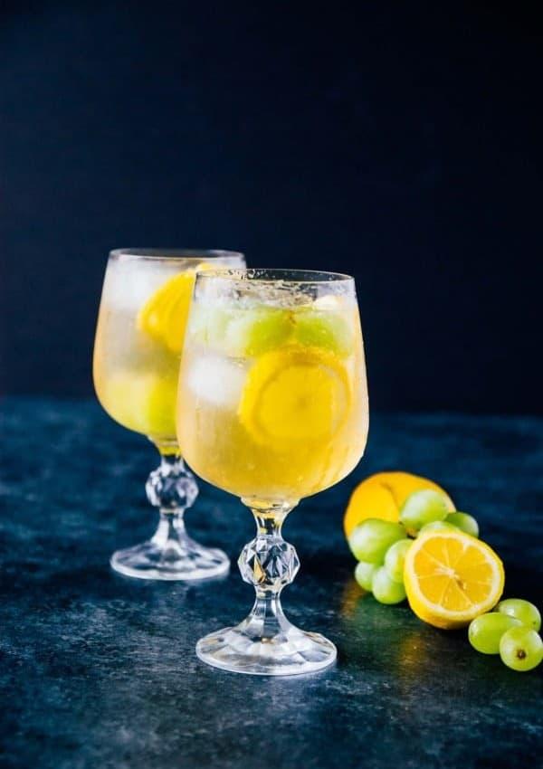 Sweet Lemon Grape Sangria
