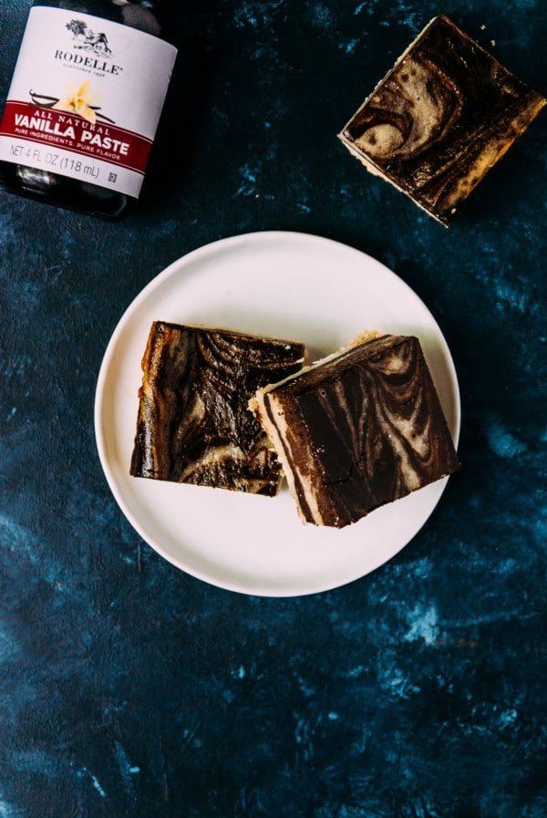 A perfect treat for any cheesecake lover, chocolate bourbon vegan cheesecake squares are a rich and decadent treat!