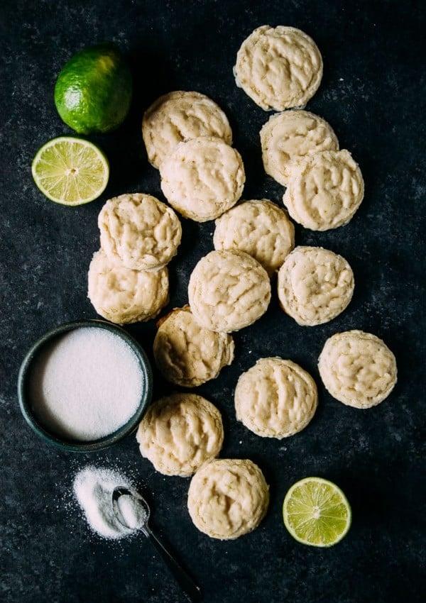 Vegan Lime Sugar Cookies
