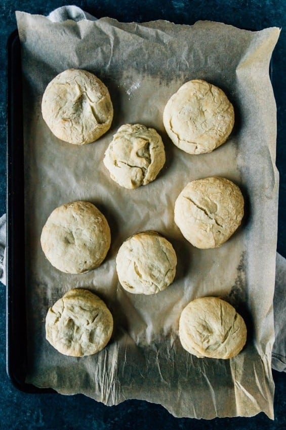 Vegan Yeast Biscuits