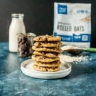 Classic vegan oatmeal cookies get a sweet twist, with loads of chocolate chips, crispy edges and no chilling time required. These easy vegan oatmealcookies can't be beat!