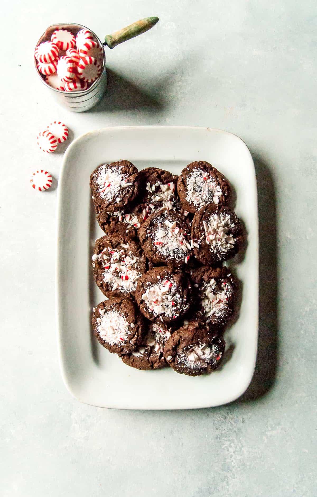 Vegan Chocolate Peppermint Cookies Heart Of A Baker