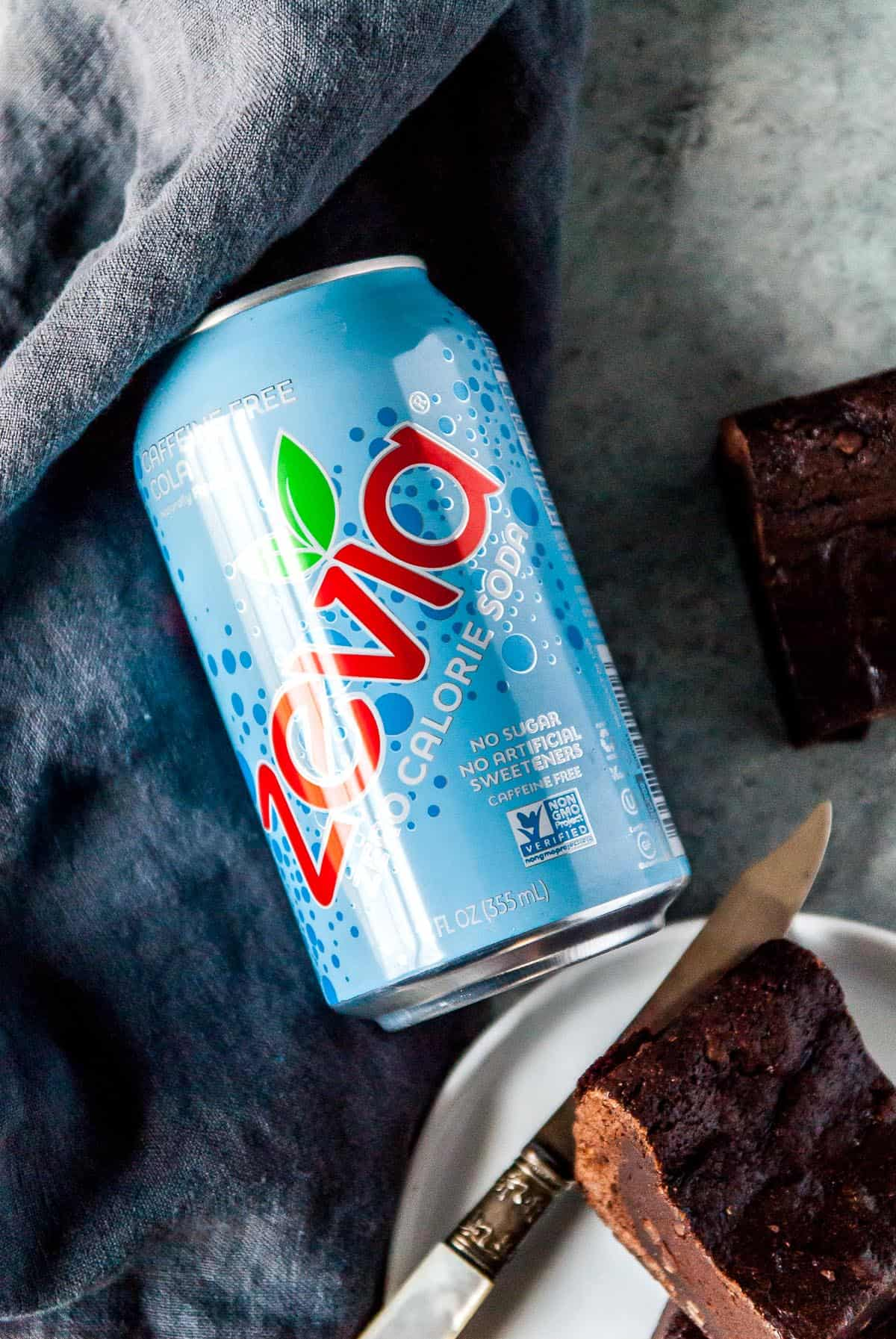 The perfect rich, decadent dark chocolate vegan brownies, with a cola twist!