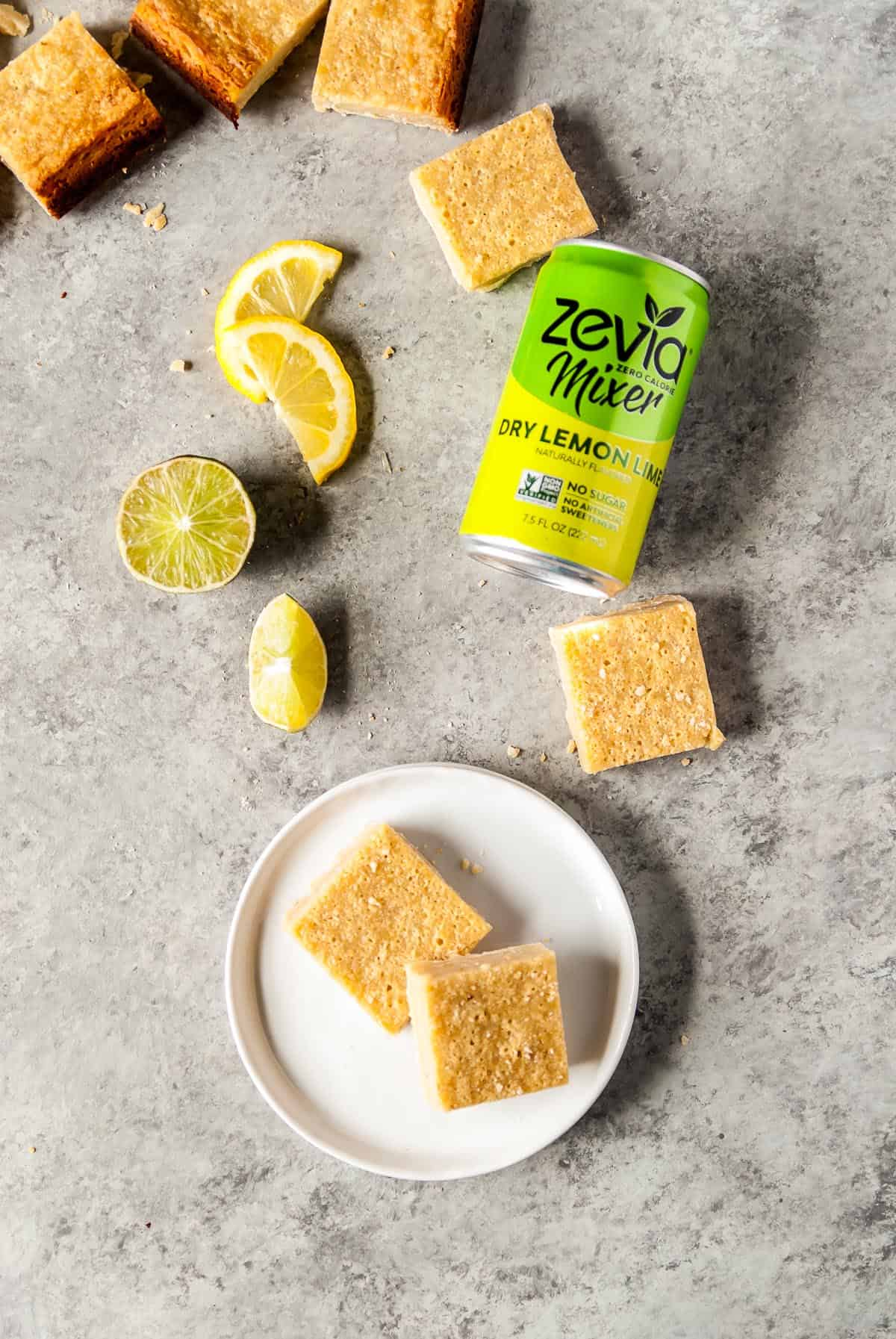 Vegan lime bars are dreamy, creamy, and have a PERFECT shortbread crust! Made with a creamy cashew filling and a coconut oil crust that will TOTALLY become your new favorite dessert.